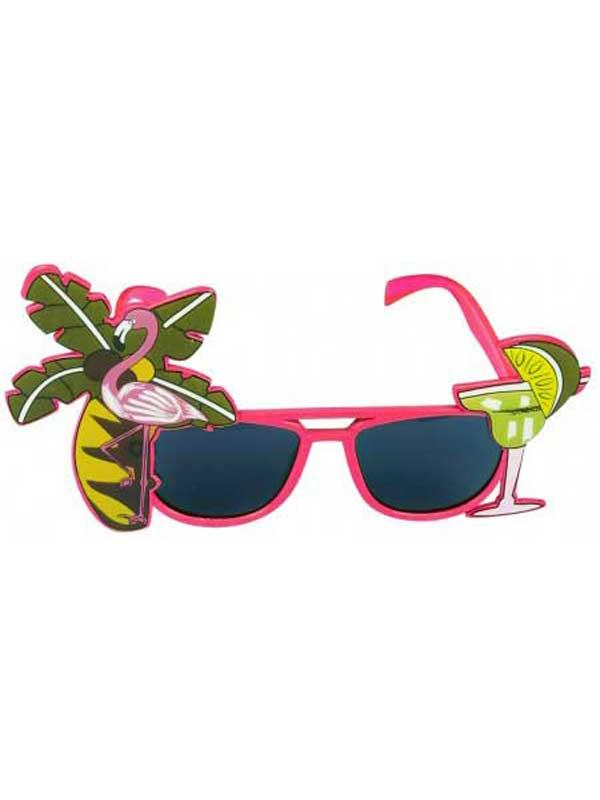 Dark Lens Flamingo Assorted Glasses Thumbnail 4