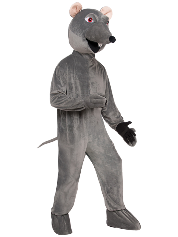 Rat Big Head Mascot Costume