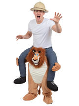 Piggy Back Lion Costume