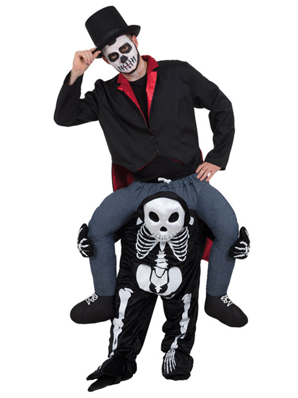 Piggy Back Skeleton Costume