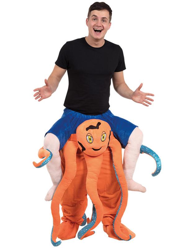 Piggy Back Octopus Costume