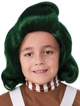 Child Boys Oompa Loompa Wig