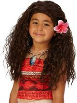 Child Girls Moana Wig
