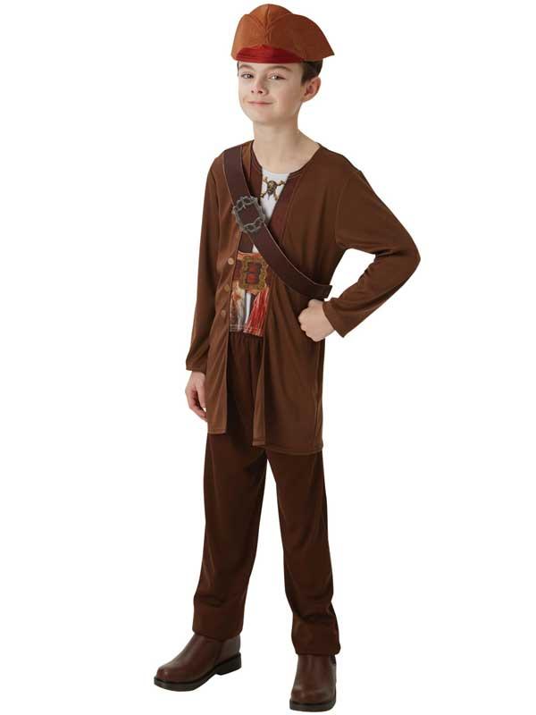 Chicos-Nino-Jack-Sparrow-Fancy-Dress-Costume-Caribe-Pirata-salazars-venganza
