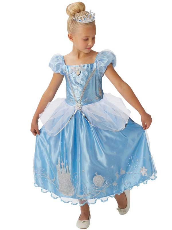 Le-ragazze-CANTASTORIE-CENERENTOLA-Costume-Principessa-Libro-Giorno- 8776d5752faa