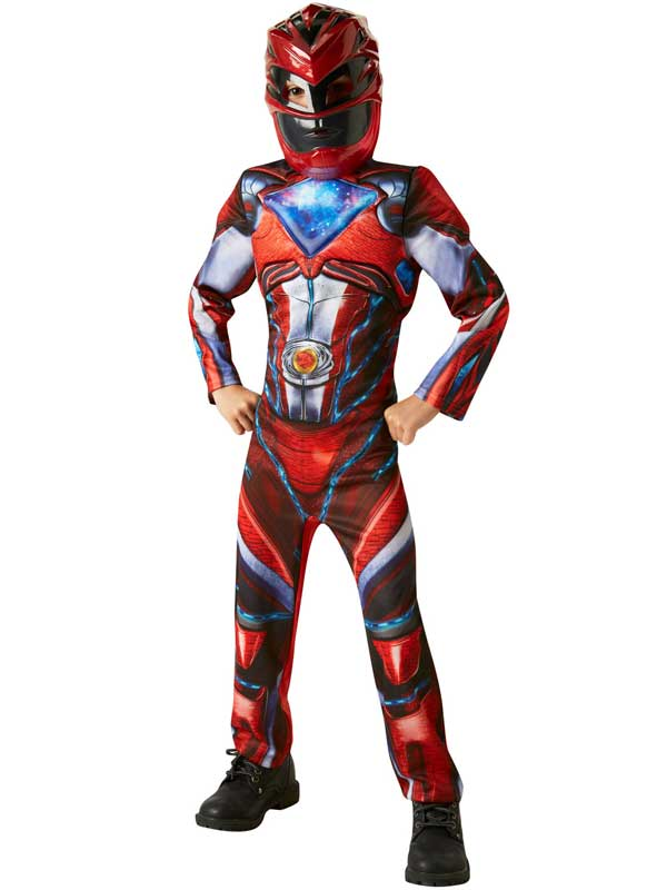 Red-Power-Rangers-Movie-Fancy-Dress-Deluxe-Costume-Childs-Ranger-Character-Boys