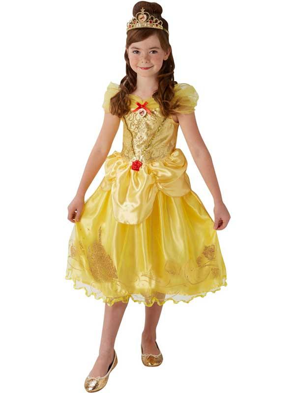 Child Storyteller Golden Belle Costume
