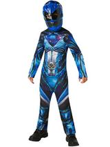 Child Blue Power Rangers Movie Costume