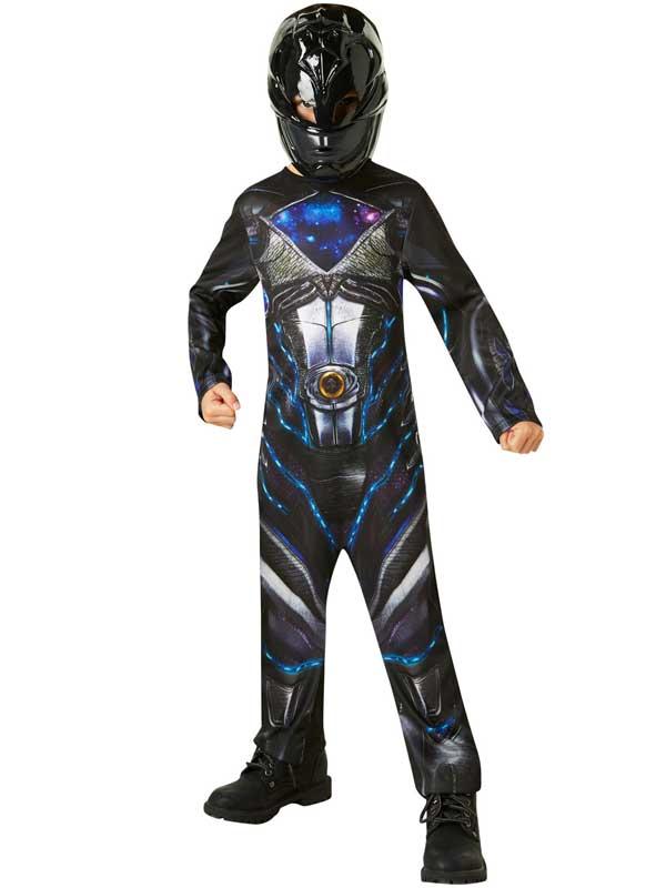 Child Black Power Rangers Movie Costume