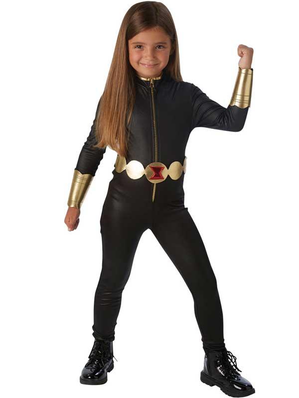 how to make a black widow superhero costume