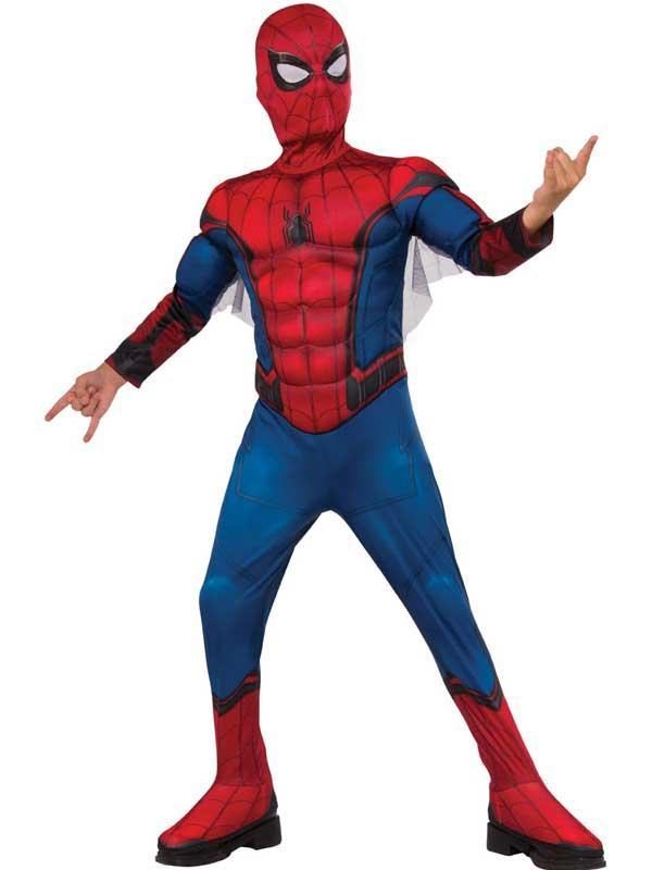 Child Spiderman Homecoming Deluxe Costume Thumbnail 1