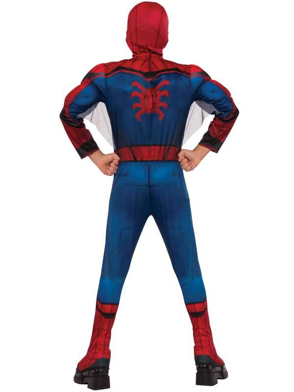 Child Spiderman Homecoming Deluxe Costume Thumbnail 2