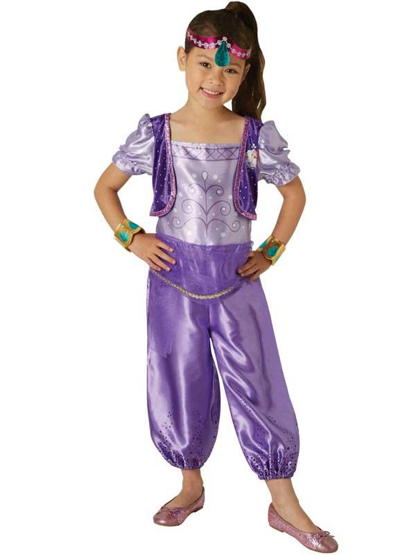 "Girls Genie ""Shimmer"" Costume"
