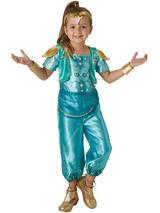 "Girls Genie ""Shine"" Costume"