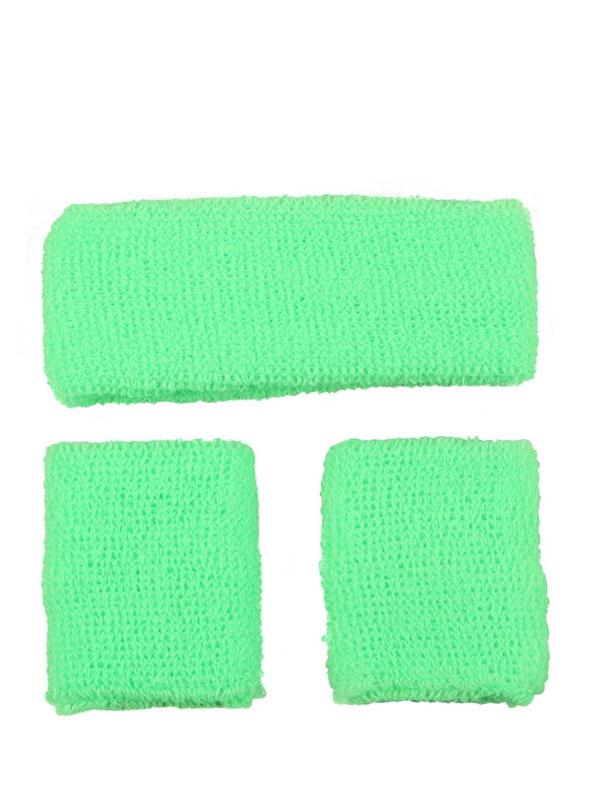 Sweatband & Wristband Neon Green