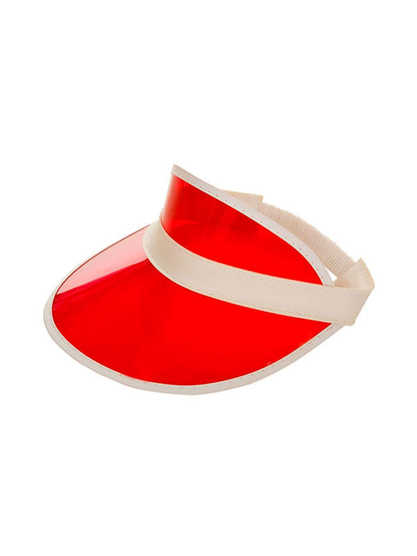 Adult Pub Golf Visor - Red