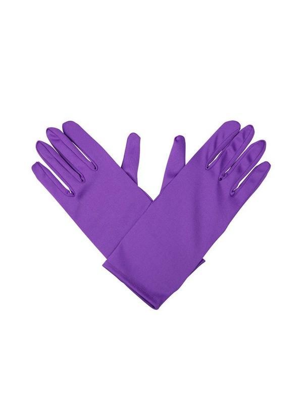 Gents Purple Gloves