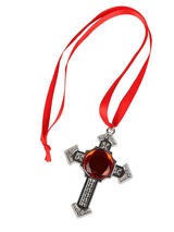 Deluxe Vampire Cross Medallion