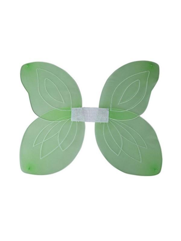 Adult Ladies Green Fantasy Wings