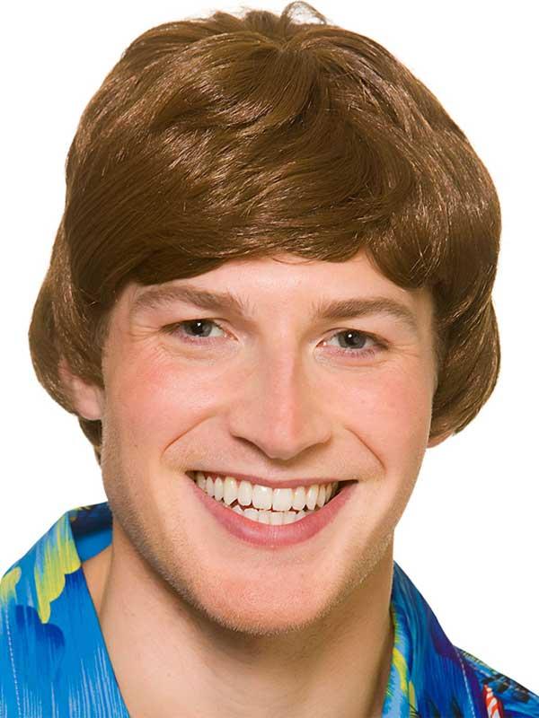 Adult Mens Hawaii Beach Boy Wig