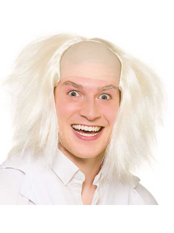 Adult Mens Crazy Guy Wig