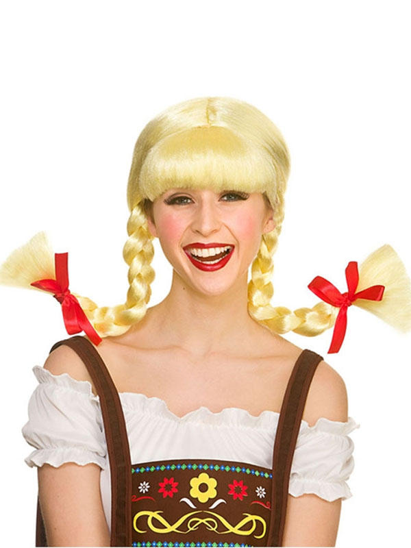 Adult Mens Funny Bavarian Beergirl Wig Thumbnail 2