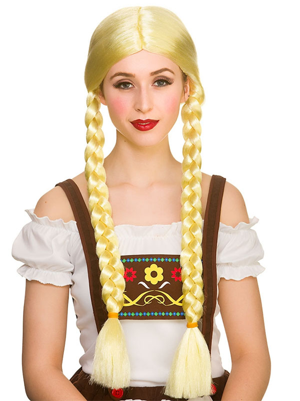 Adult Ladies Oktoberfest Beer Girl Wig