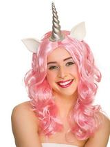 Adult Ladies Unicorn Wig