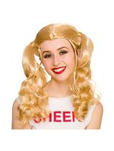 Adult Ladies Cheerleader Wig