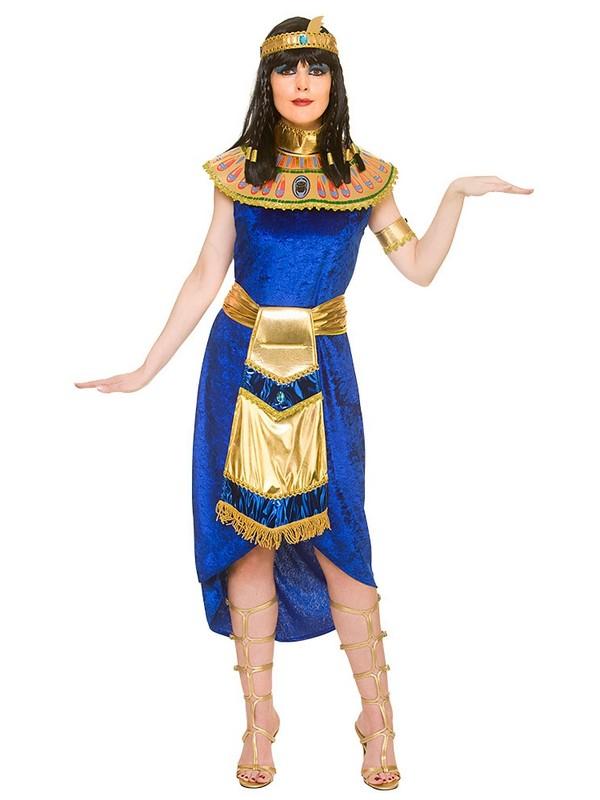 Adult ladies uk 6 20 princess cleopatra fancy dress costume blue sentinel adult ladies uk 6 20 princess cleopatra fancy dress costume blue egyptian queen solutioingenieria Gallery