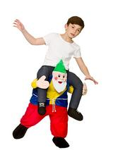Child Carry Me® Funny Gnome Costume