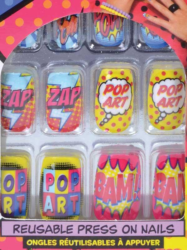 Pop Art Finger Nails Thumbnail 2