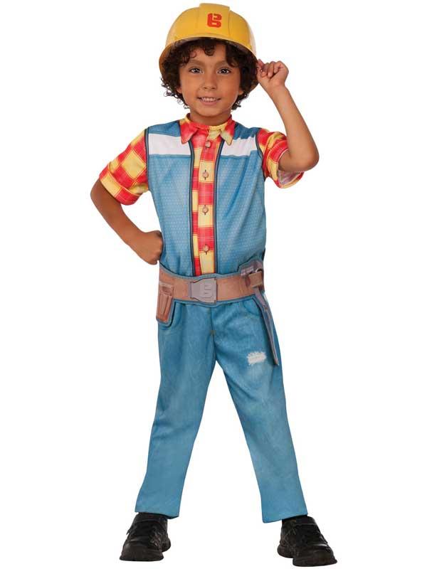 Bob the builder boys costume tv character cartoon childs kids