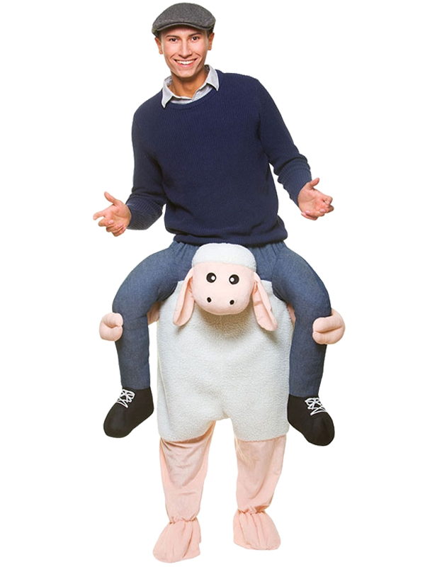 Sentinel Carry Me Sheep Lamb Ride On New Fancy Dress Piggy Back Adult Farm Animal Costume  sc 1 st  eBay & Carry Me Sheep Lamb Ride On New Fancy Dress Piggy Back Adult Farm ...