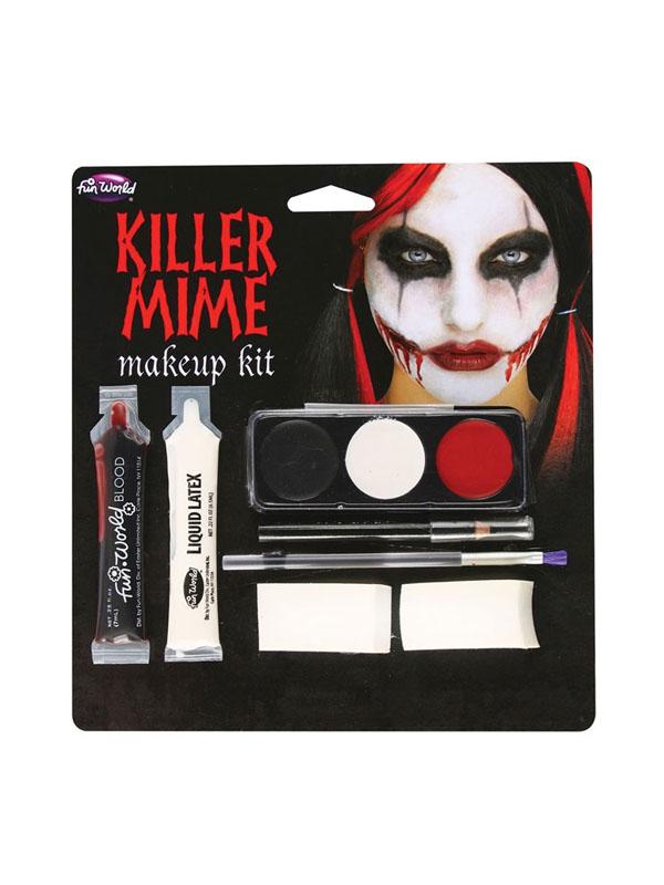 Killer Mime Make Up Kit