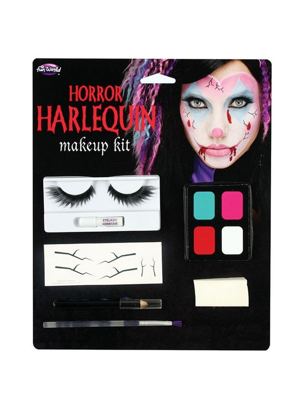 Horror Harlequin Makeup Kit