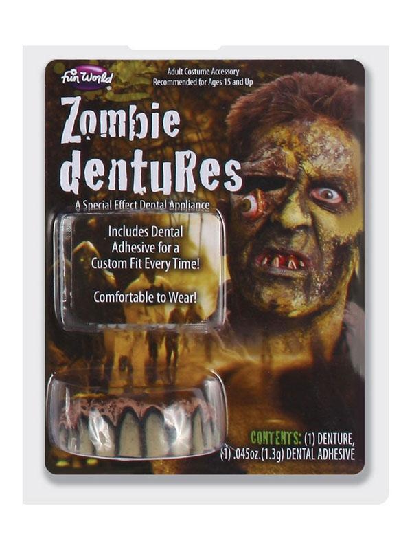 Big Bubby Dentures Zombie