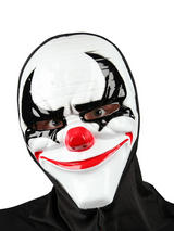 Adult Mens Freaky Clown Mask With Hood