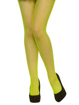 Fishnet Tights Neon Green