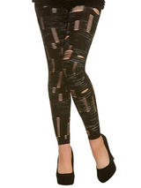 Footless Zombie Tights