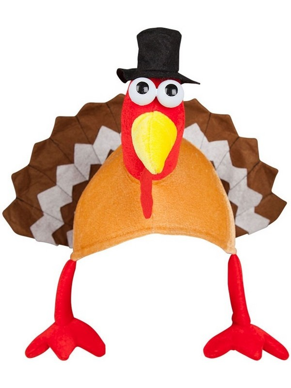 Adult Crazy Turkey Hat
