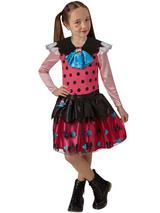 Child Girls Classic Draculaura Costume