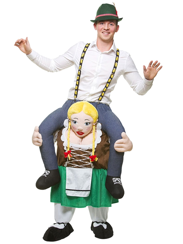 Carry Me® - Bavarian Oktoberfest Girl Costume