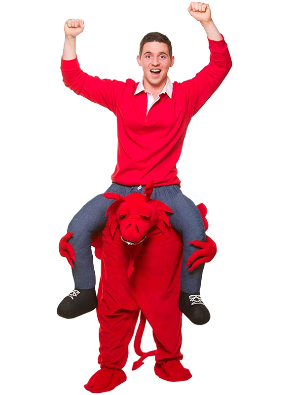 Carry Me® Welsh Dragon Costume