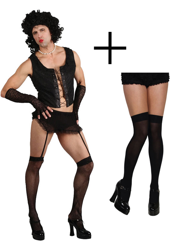 9d64a36d03326 Sentinel Adult Rocky Horror Picture Show Frank N Furter Fancy Dress Costume  +Stockings