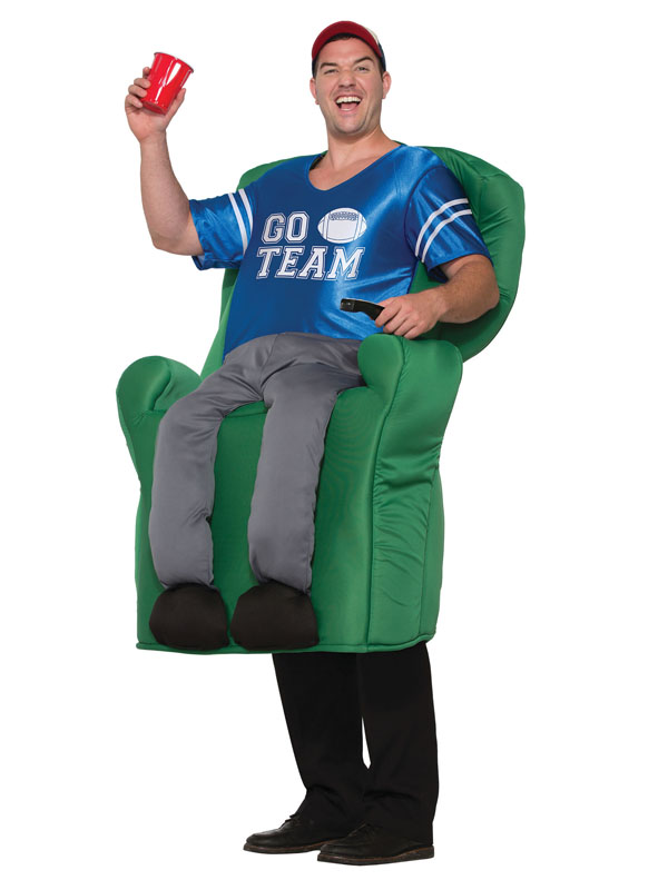 Quarterback Armchair Fancy Dress Costume