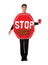 Stop Sign Fancy Dress Costume