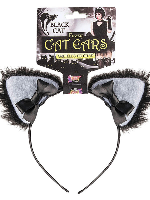 Adult Ladies Furry Cat Ears