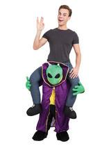 Alien Piggyback Fancy Dress Costume