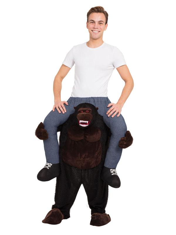 Gorilla Piggyback Fancy Dress Costume